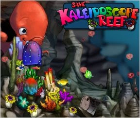 Online Games Kaleidoscope Reef