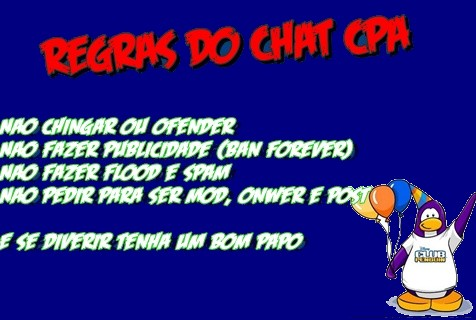 Regras Do Chat Cpa