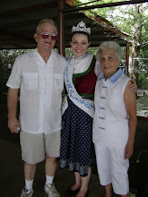 Sarah and her grandparents