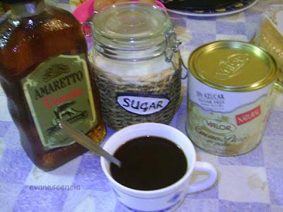 cafe para emborrachar bizcochos