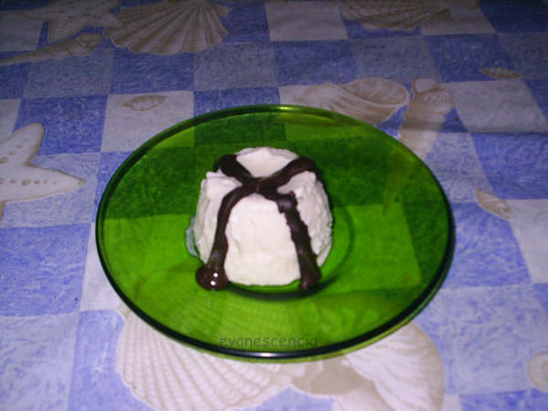 molde diferente de helado arroz con leche