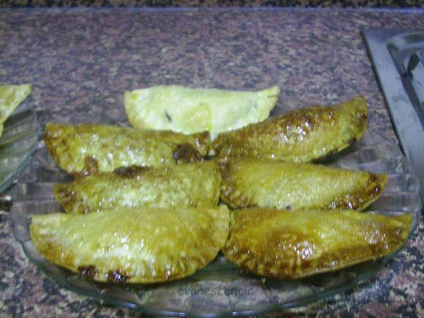 empanadillas rellenas de Nocilla