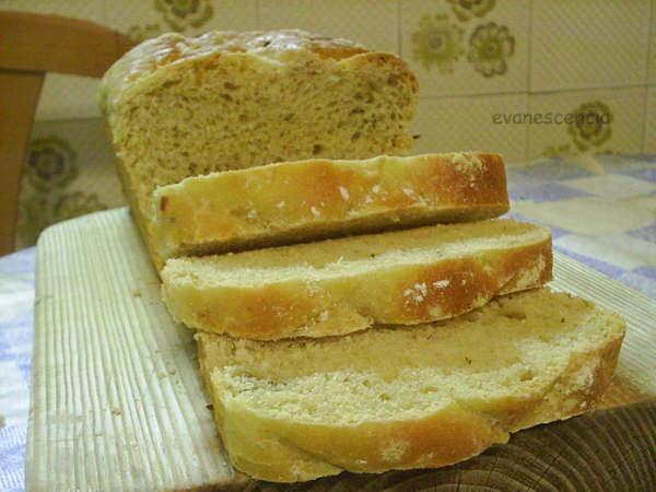 rebanadas pan de ajo y oregano