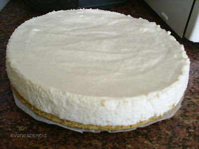 tarta antes de decorar