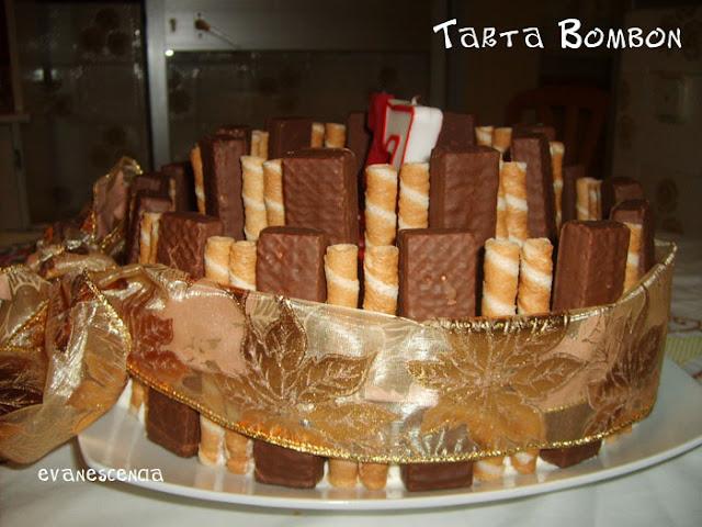 lazo que envuelve tarta