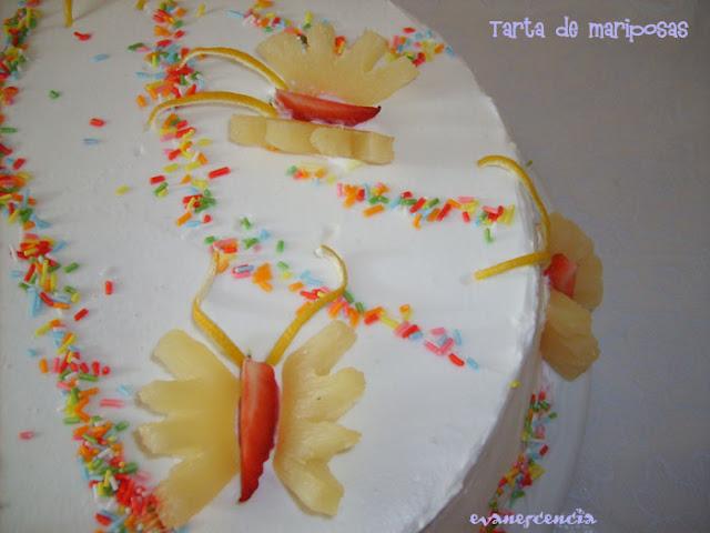 mariposas de frutas