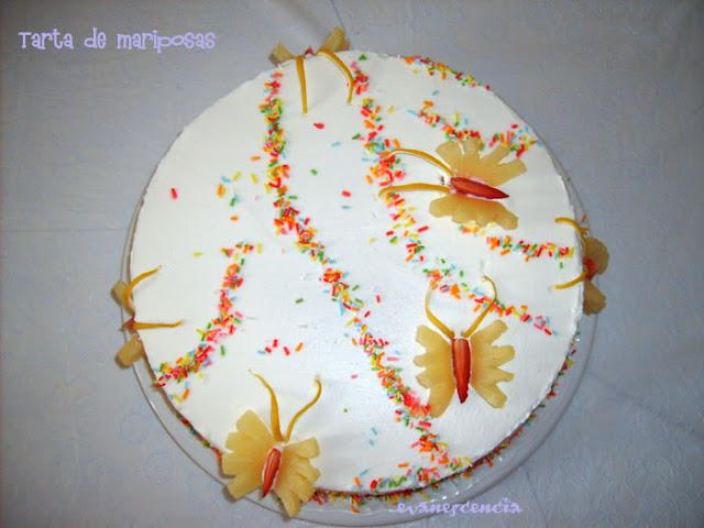 tarta desde arriba