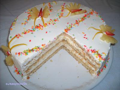 corte tarta mariposas