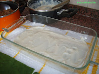 fondo molde con bechamel