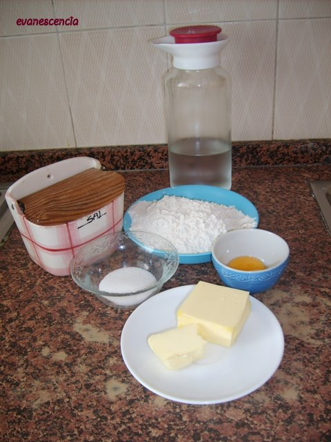 ingredientes masa quebrada dulce
