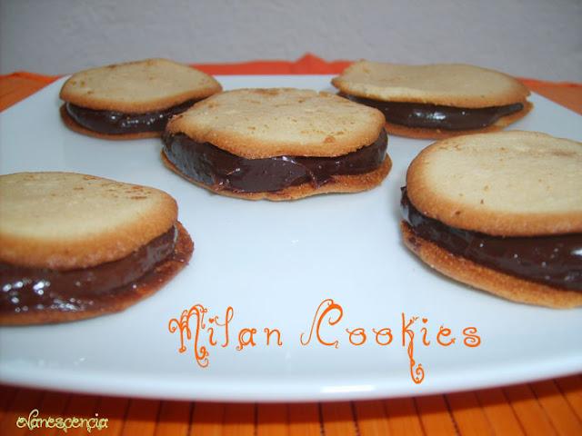 receta paso a paso galletas milano