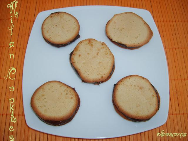 facil receta galletas milano