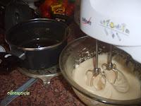 añadir sirope en claras
