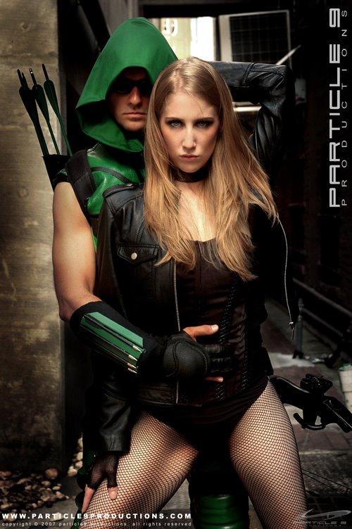 Black Canary & Green Arow (DC) Cosplay - Neoverso : animé ...