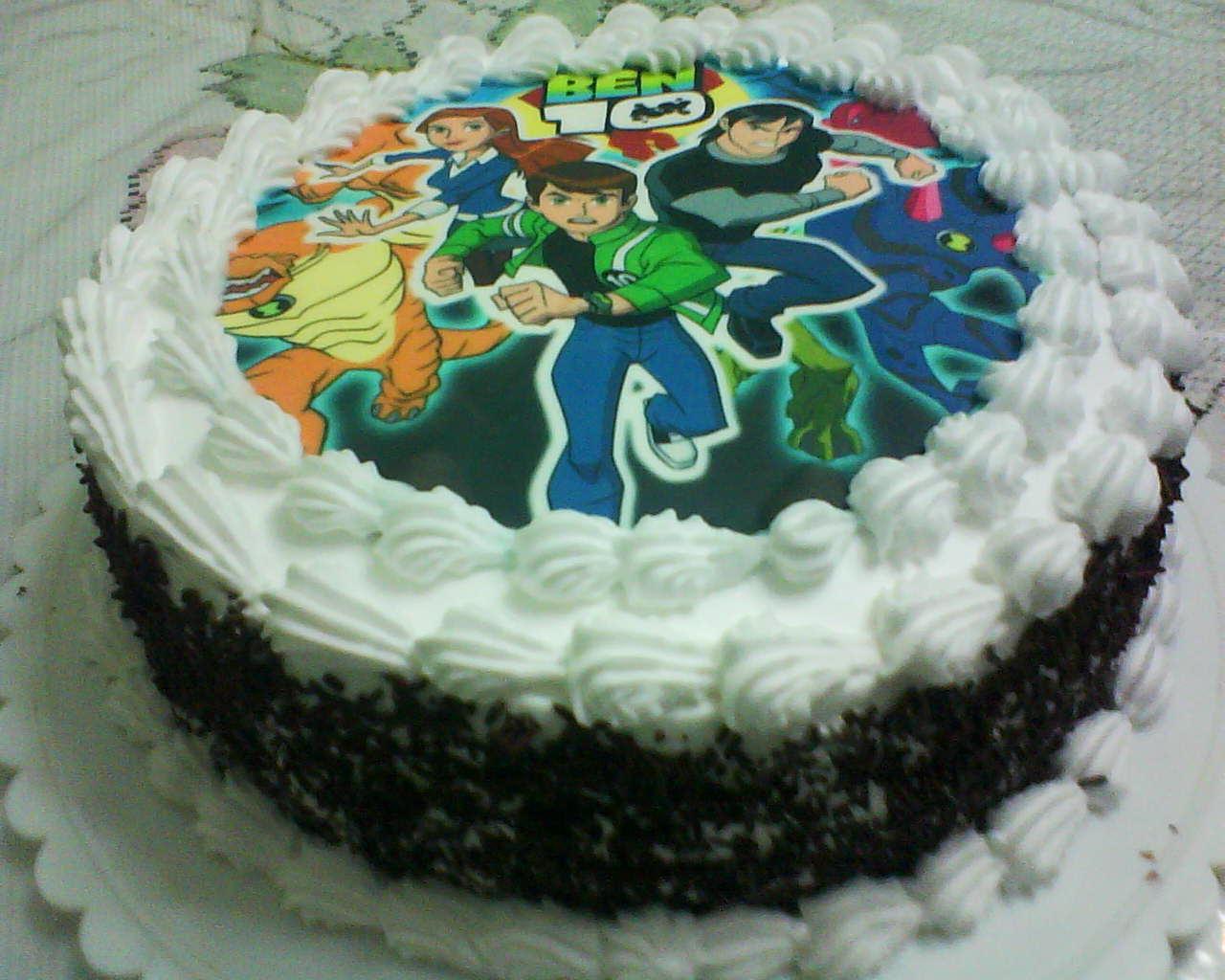 Cakesmooch Ben 10 Birthday Cake