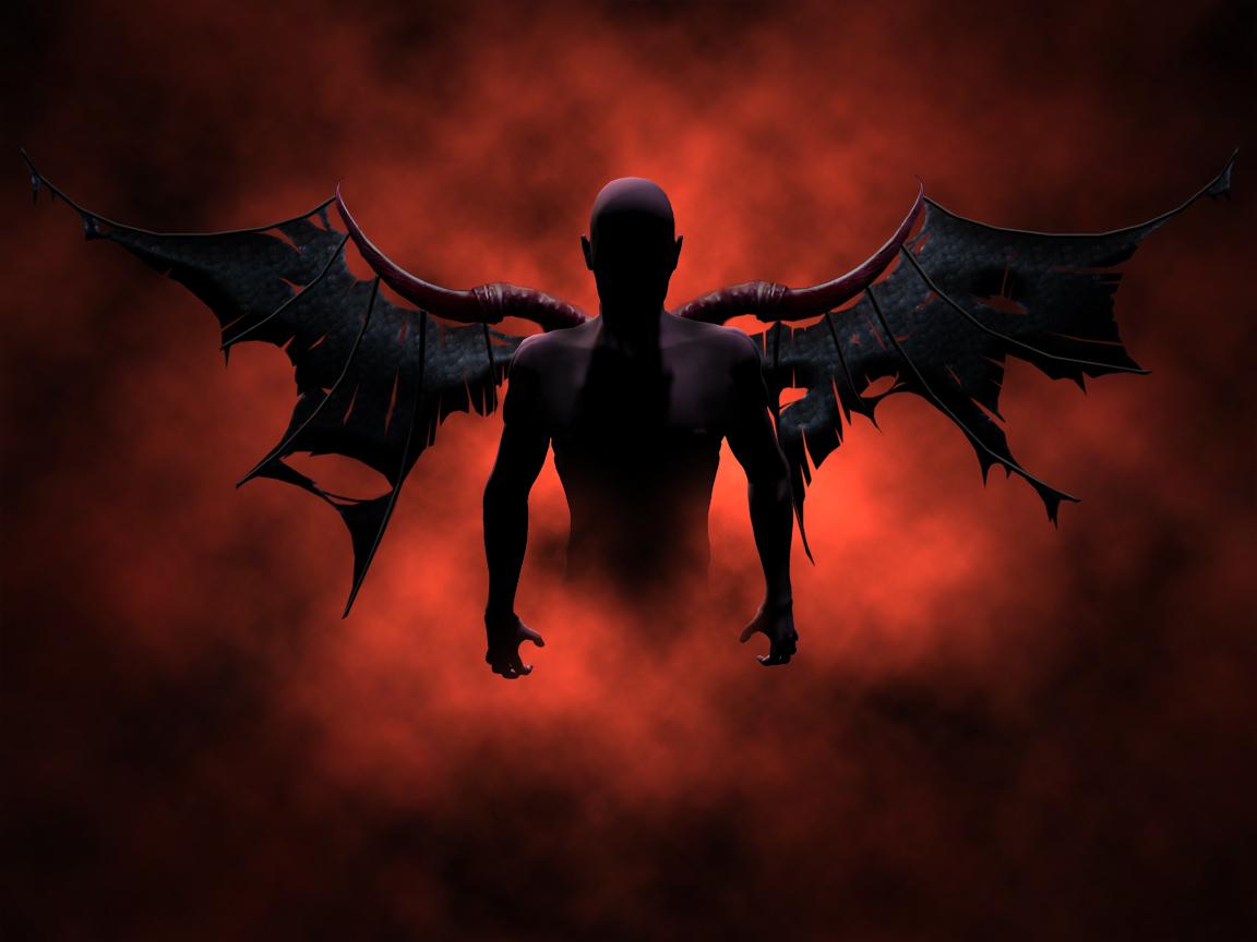 Satan Vs God Wallpaper