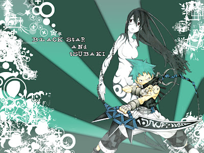 Site Blogspot  Star Wallpaper on Soul Eater Black Star And Tsubaki Wallpaper