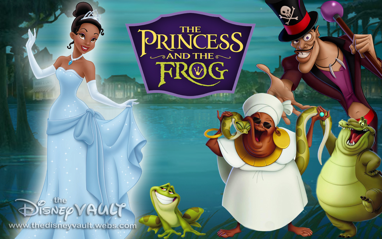 The Princess And The Frog Wallpapers Wallpaperholic The Princess And The Frog Frog