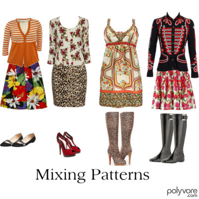 Style Versus Fashion Mixing Prints Patterns