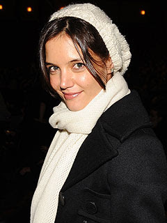 You know all those rumors about Katie Holmes being pregnant?