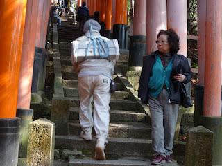 Fushimi Inari worker