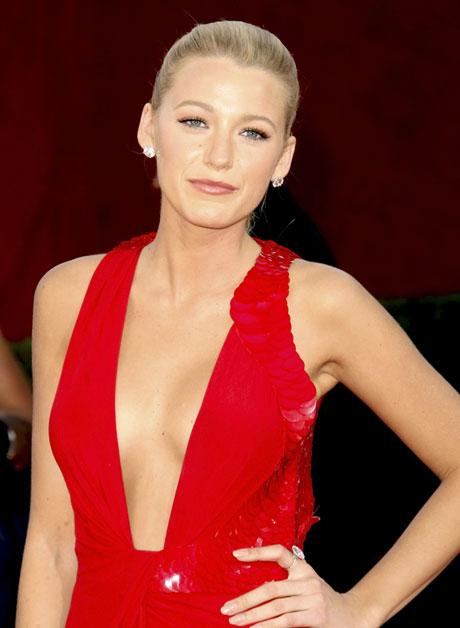 blake lively makeup. Blake Lively Emmys 2009.
