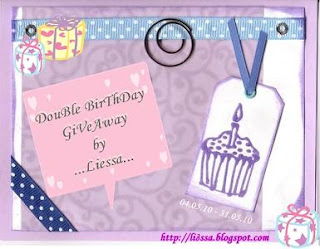 Double Birthday Giveaway by Liessa