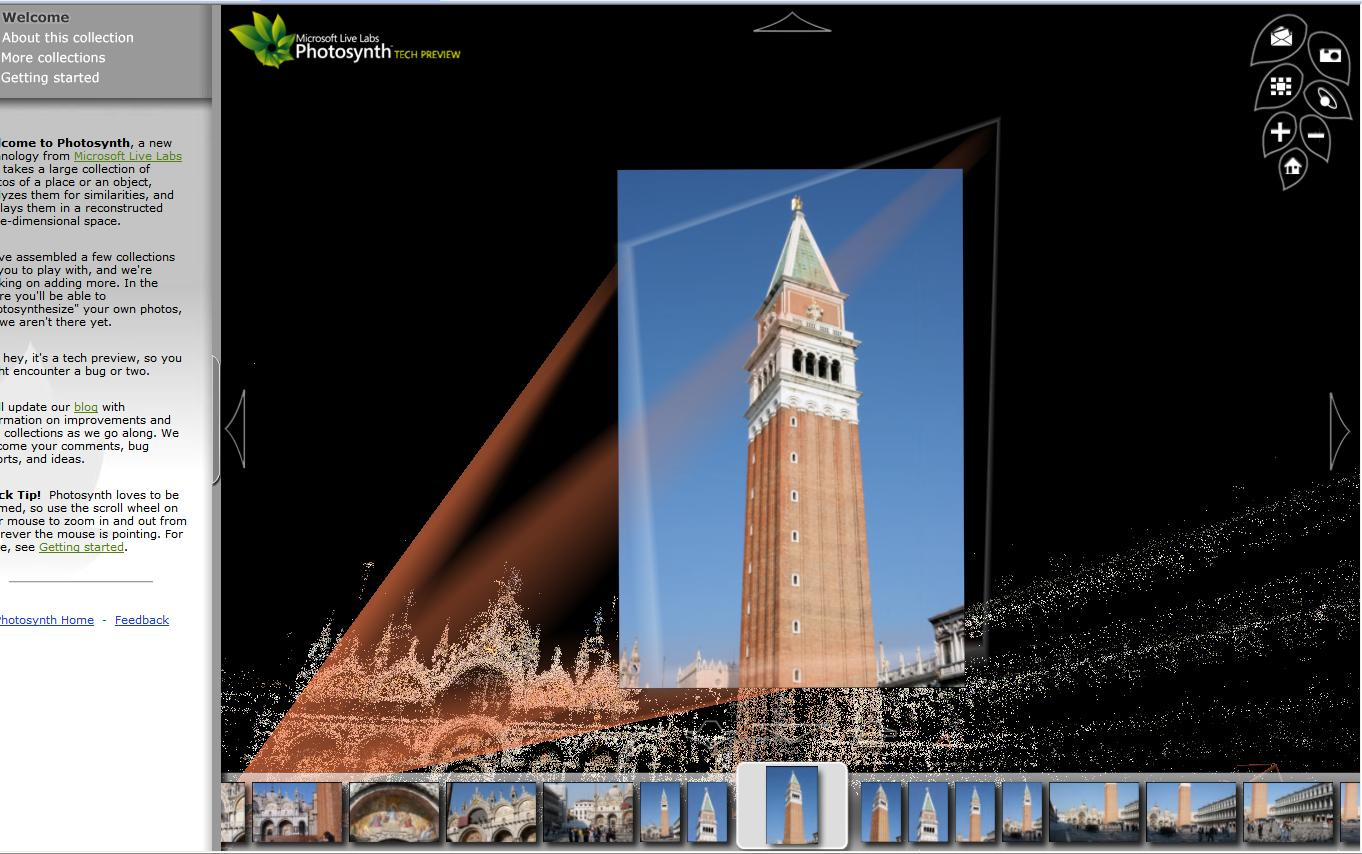 Microsoft launches 3D photo viewer Photosynth - Video - CNET Labs live com photosynth