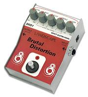 Review do pedal de distorção para guitarra Brutal Distortion da Landscape na Central do Rock