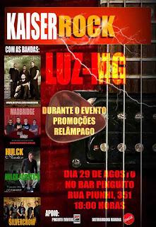Festa Kaiser Rock em Luz-MG
