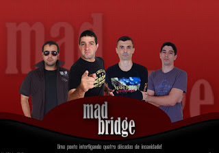 Entrevista com a Banda MAD BRIDGE aqui na Central do Rock