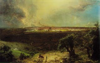 Jerusalem from the mount of Olives - Frederic Edwin
