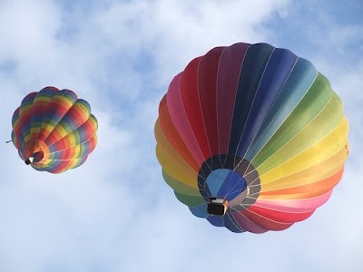 Hot Air Balloons Flickr photo by Aoife Mac