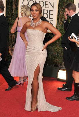 Beyonce At 66th Annual Golden Globe Awards