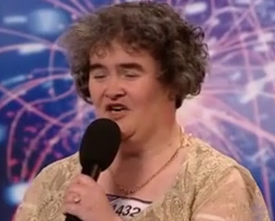Susan Boyle's audition for Britain's Got Talent