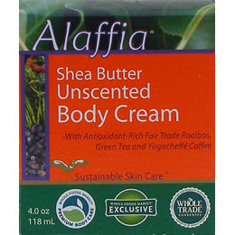 Alaffia Shea Butter Body Cream
