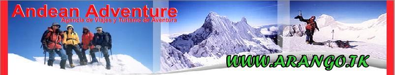 La Ciudad de Huaraz, nevados,  aguas termales, lagunas - Arango Jara