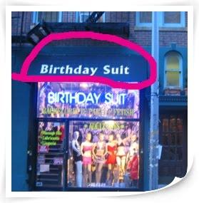 Birthday Suit?