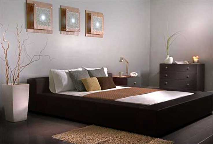 Minimalist designs modern bedroom furniture interior for Minimalist bed design