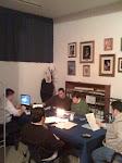 Una sesión del Grupo Bíblico