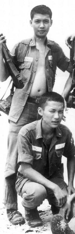 SVSQ Nguyễn Văn Thắng và Trang Ngọc Hùng K10B72 SQTB