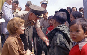 Mrs Betty FORD / Camp Pendleton 1975
