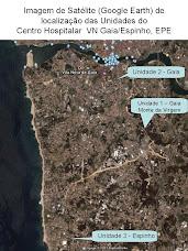 Localização das Unidades do CHVNGE