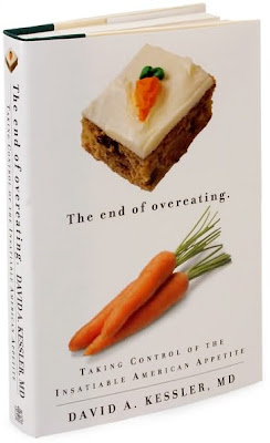 cover of a book, The End of Overeating
