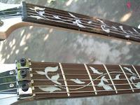 gitar custom elektrik double neck