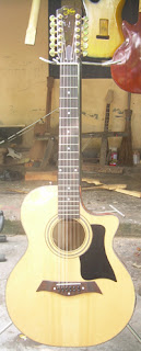 gitar akustik 12 string