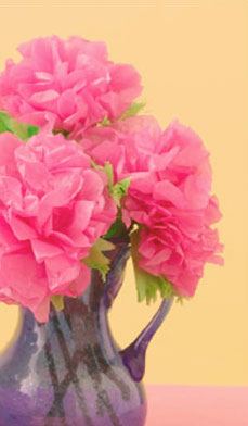 Susan crabtree how to make mexican tissue flowers a few of you emailed me asked how to make tissue flowers for cinco de mayo here are some simple instructions on how to create your own mightylinksfo