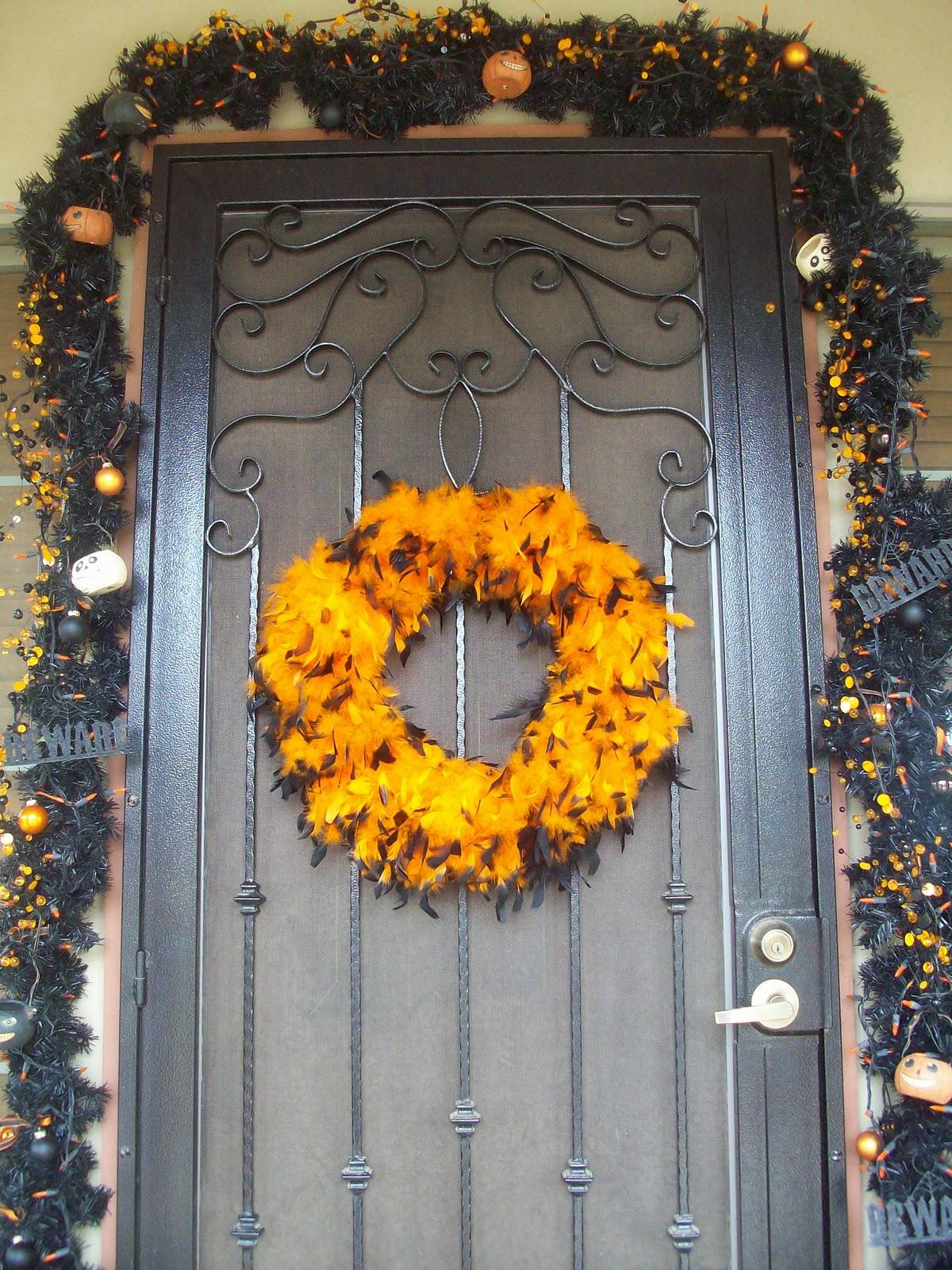 Poca cosa halloween garland for Halloween girlande