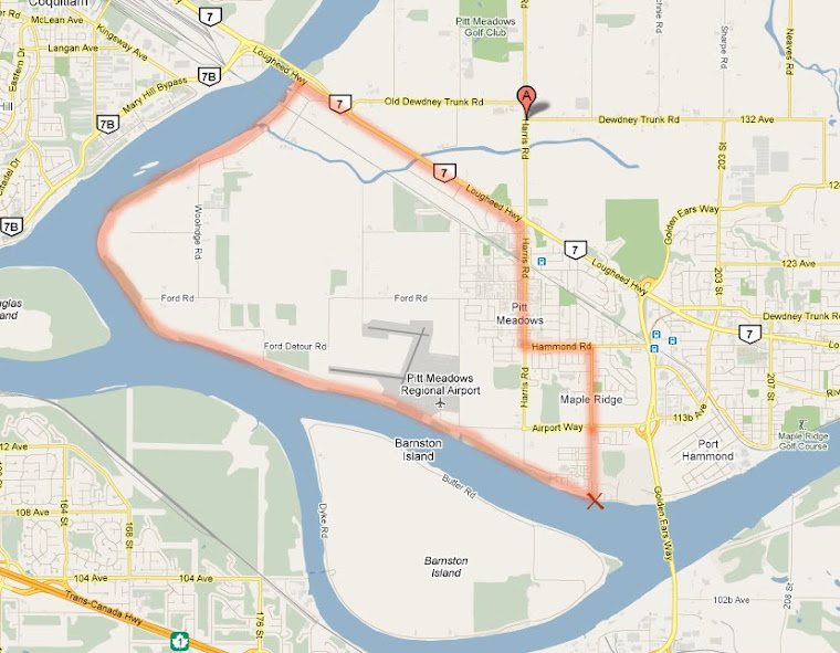 GREAT RIDE #1: Pitt Meadows Dyke