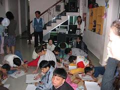 Garderie pour enfants victimes de la Dioxine